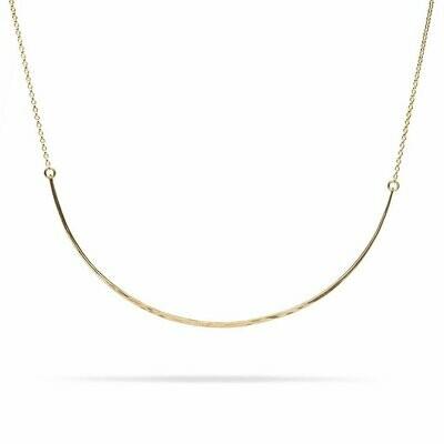 Kara Yoo Bow Necklace Gold