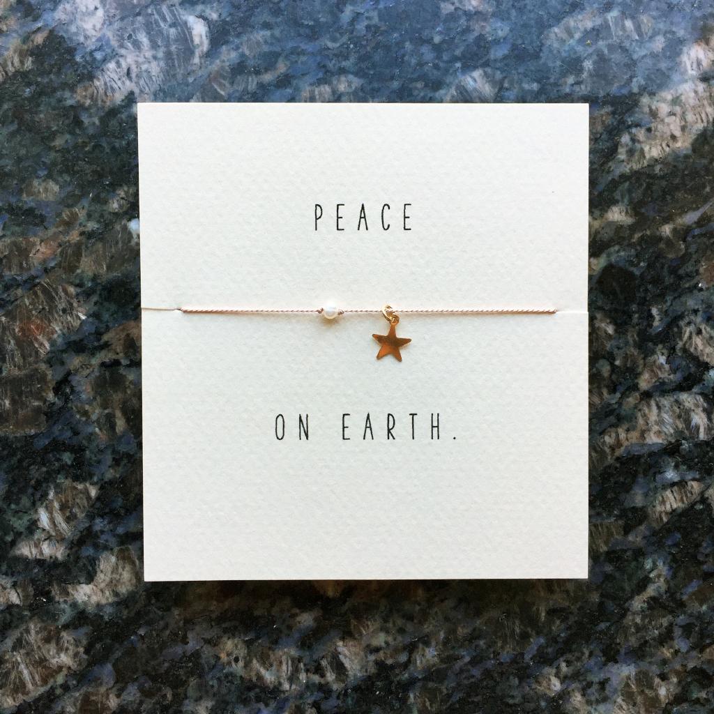 Mai Lin Peace on Earth Bracelet