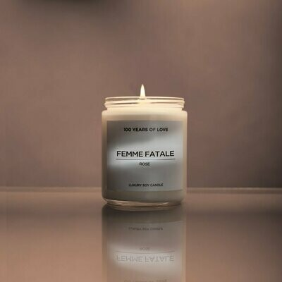 100 Years of Love - Femme Fatale Candle