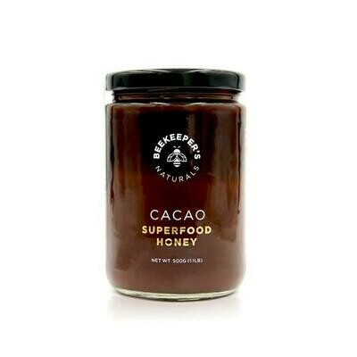 Bee Keepers Naturals Cacao Superfood Honey - 500G