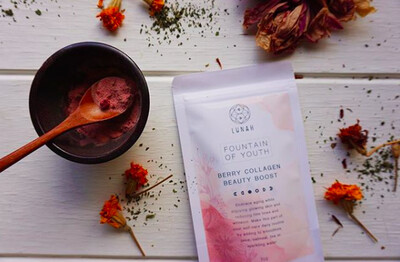 Berry Collagen Powder by Lunah