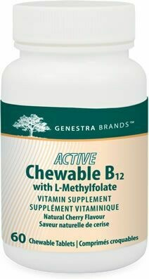Active Chewable B12 With Methylfolate