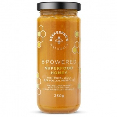 Bee Keepers Superfood B Powered Honey - Large
