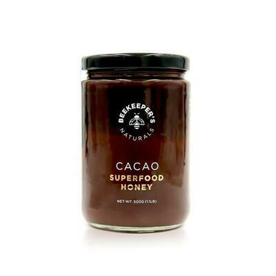 Beekeepers Superfood Cacao Honey 500ml