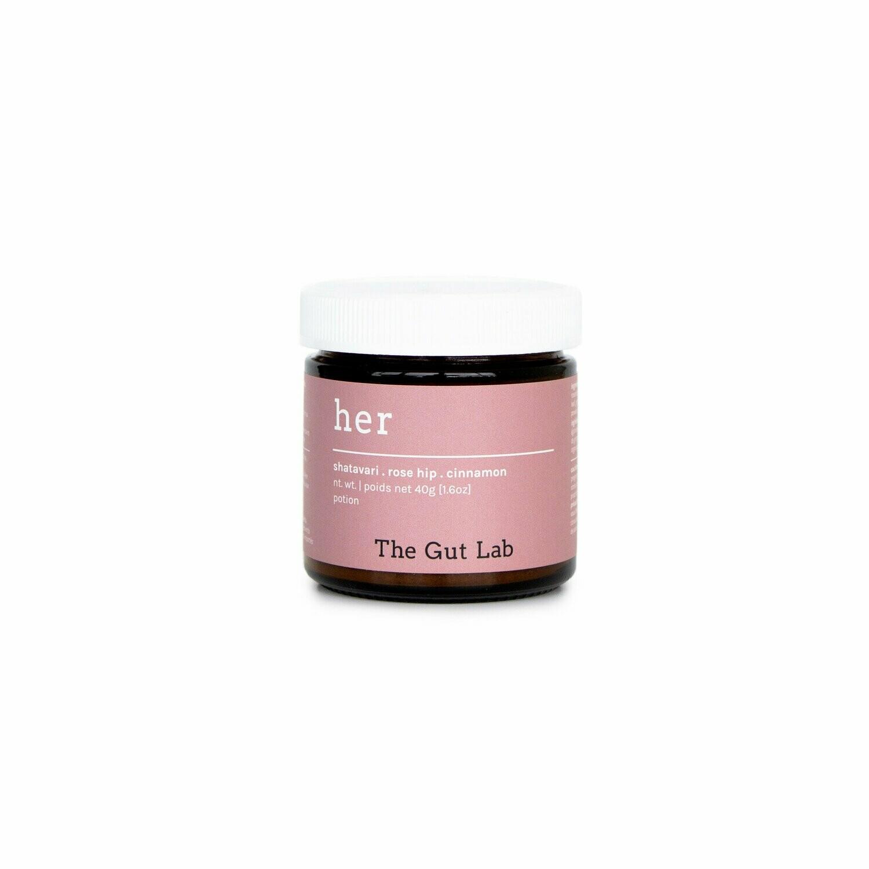 The Gut Lab Her Powder