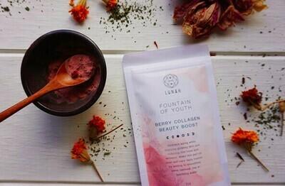 Lunah Life Berry Collagen Powder