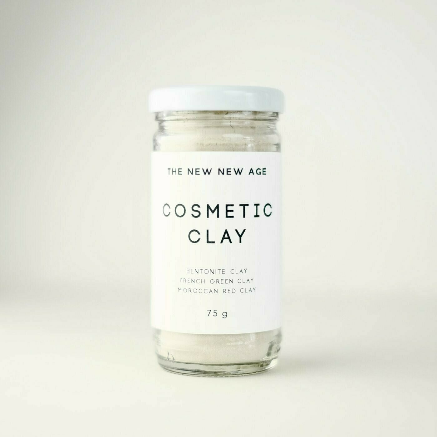 The New New Age Cosmetic Clay Mask