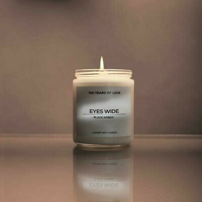 100 Years Eyes Wide Candle