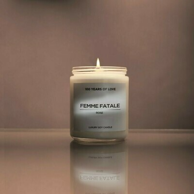 100 Years Femme Fatale Candle