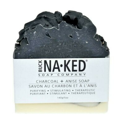 Buck Naked Charcoal Anise Soap