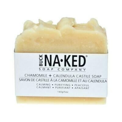 Buck Naked Chamomile Calendula Soap