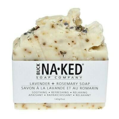 Buck Naked Lavender Rosemary Soap