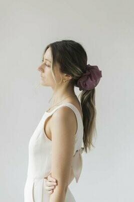 Oversized Scrunchie Purple