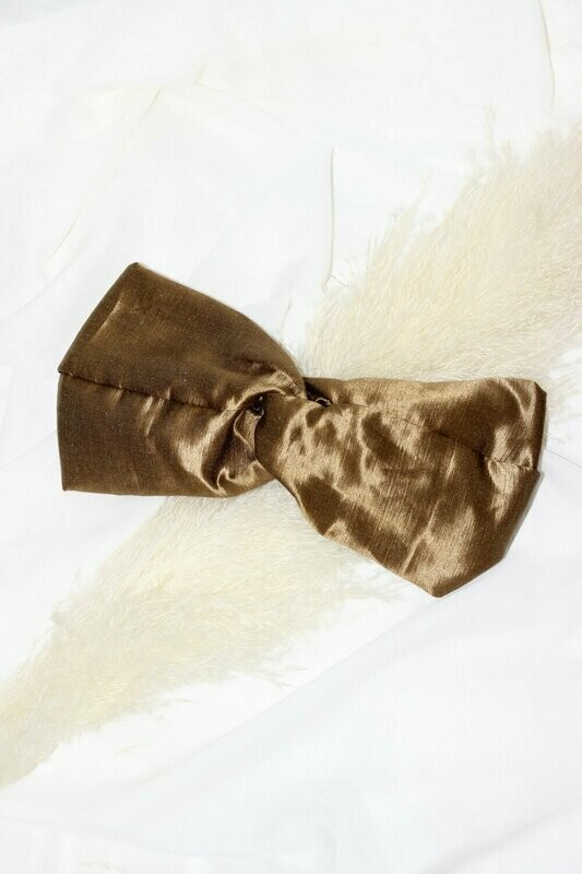 Headband Gold Satin