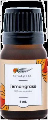 Fern & Petal Essential Oil Lemongrass