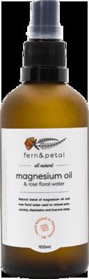 Fern & Petal Mg And Rose Spray