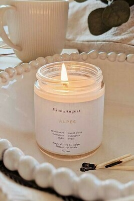 Mimi And August Alpes Candle