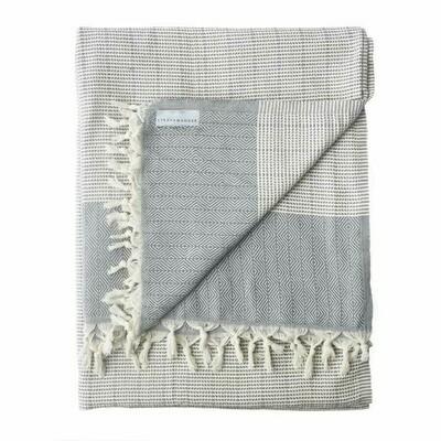Stray & Wander Repose Blanket Grey