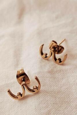 Mimi & August Boob Earrings Gold