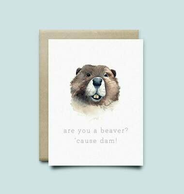 Wild Canary Beaver Card