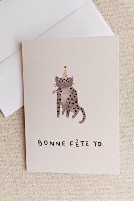 Bonne Fete Yo Card
