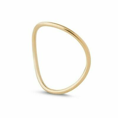 Kara Yoo Wave Ring Gold