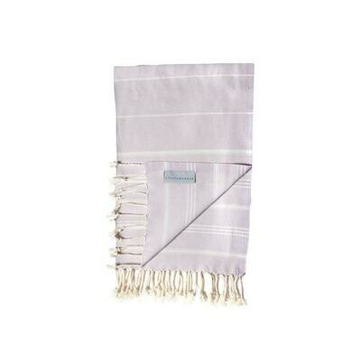 Stray And Wander Cove Small Hand Towel Lilac