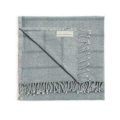 Stray & Wander Brook Towel - Blue
