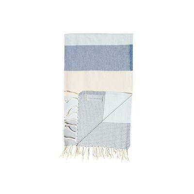 Stray & Wander Rio Small Hand Towel Blue