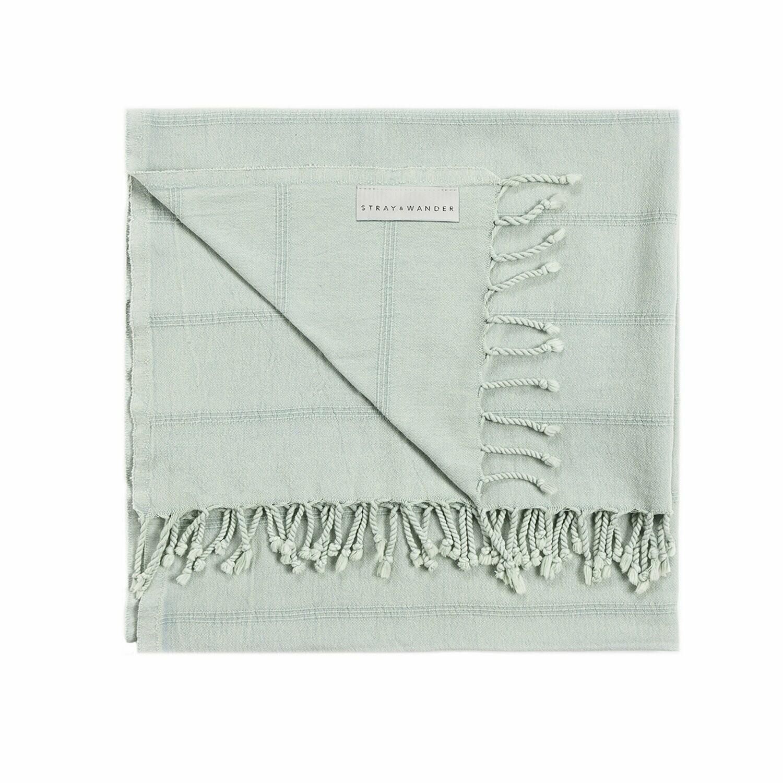 SW Brook Towel Large Seafoam Green