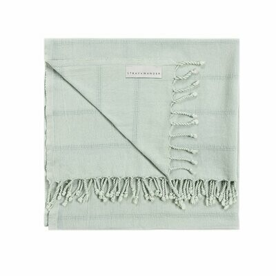 Stray & Wander Brook Towel - Seafoam Green