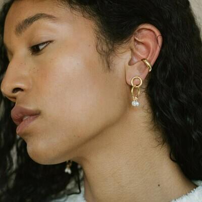 Kara Yoo Moira Mini Earrings Gold