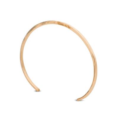 Kara Yoo Thick Cuff Bracelet Gold