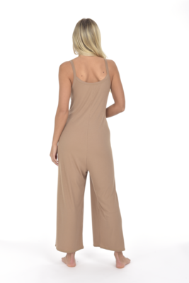 Kyra Jumpsuit Taupe XS