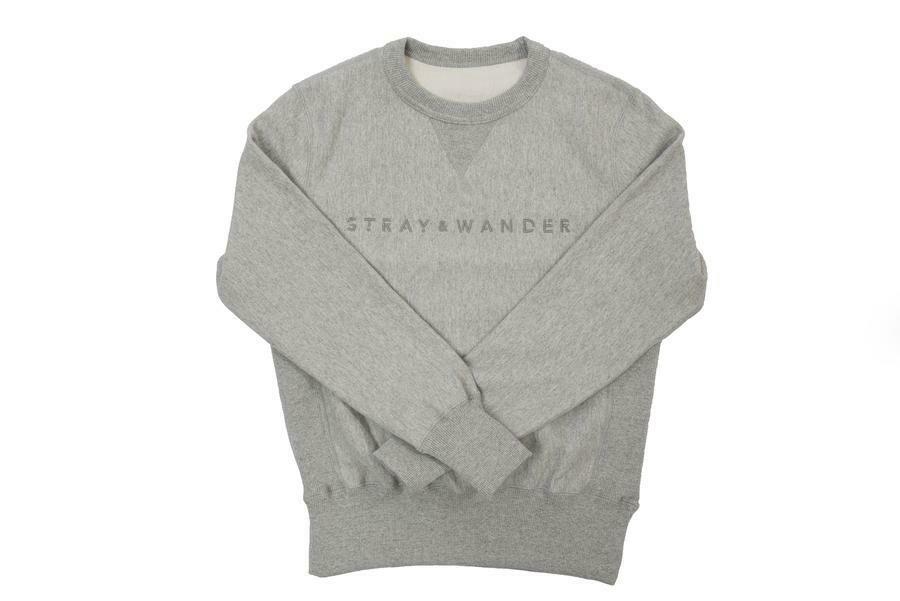 Stray & Wander Crew Neck Grey Sm