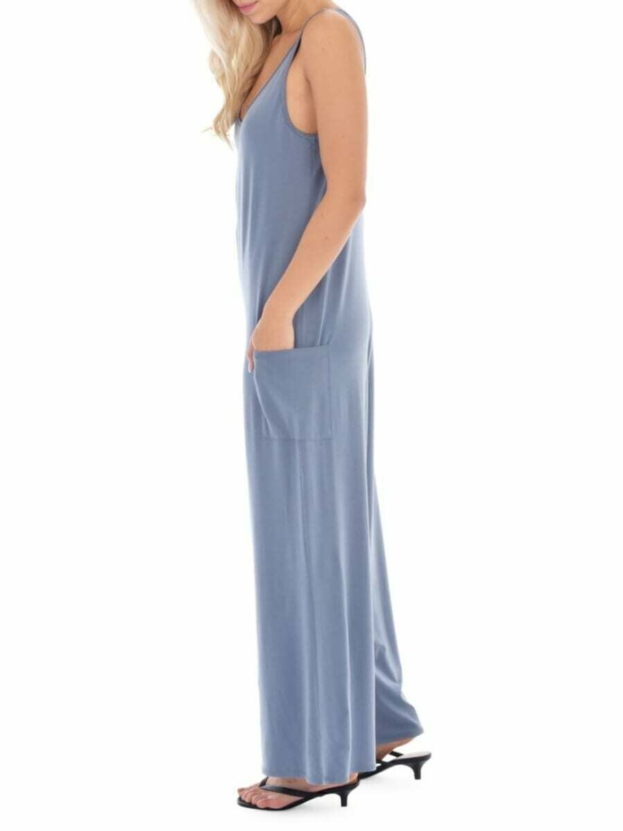 Hannah Jumpsuit Blue Med