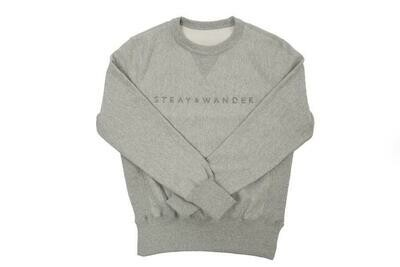 Stray & Wander Crew Neck Grey Lrg