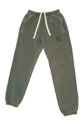 Stray & Wander Sweatpants Olive XS