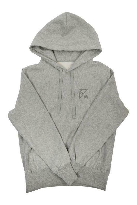 SW Hoodie Grey Lrg
