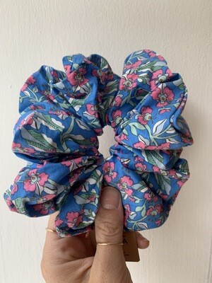 Billy Bamboo Flower Print Scrunchies