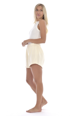 Paper Label Rosario Shorts - Natural MD