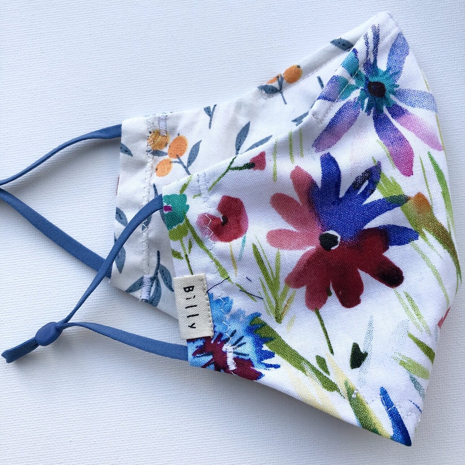 Billy Bamboo Mask Water Colour Floral