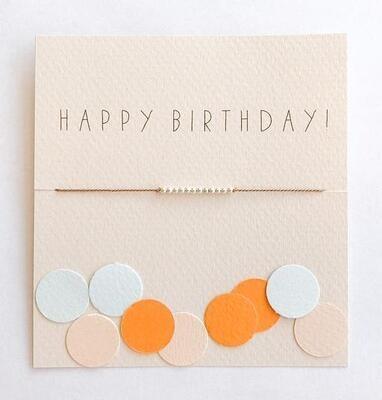 Mai Lin Bracelet - Happy Birthday