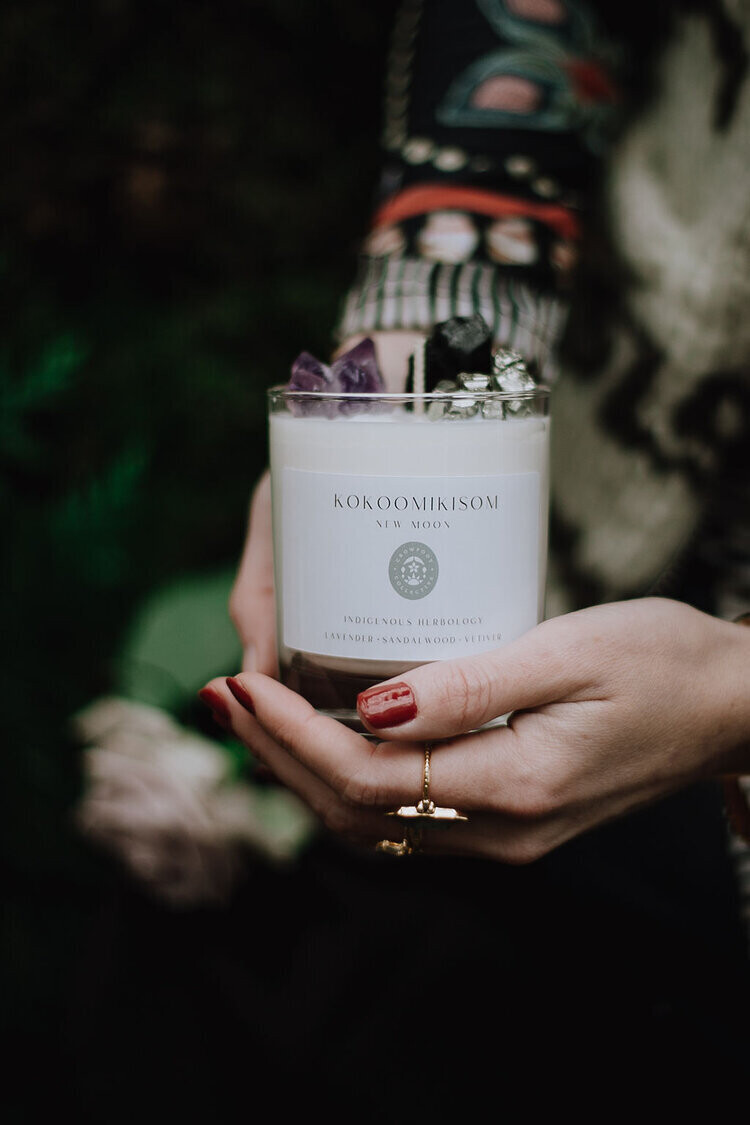Crowfoot Collective New Moon Candle