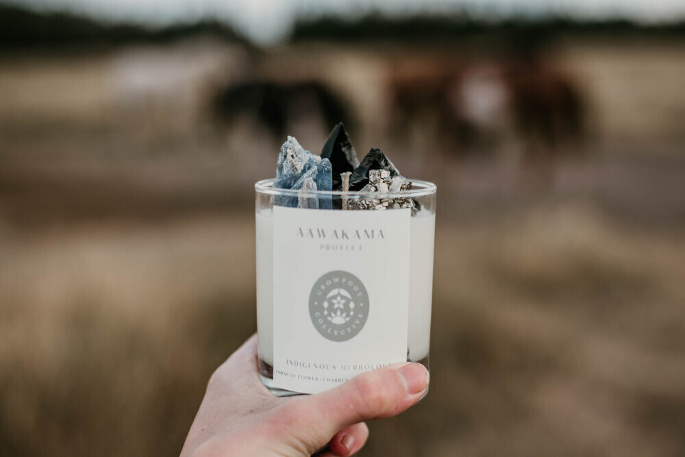 Crowfoot Collective Protect Candle