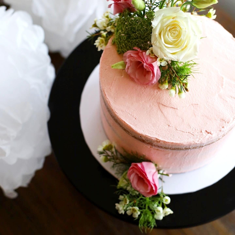 Vegan Blooms Cake