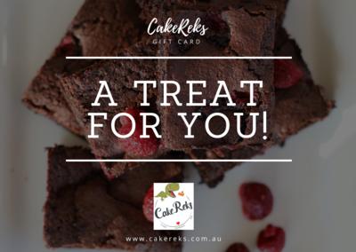 CakeReks Gift card