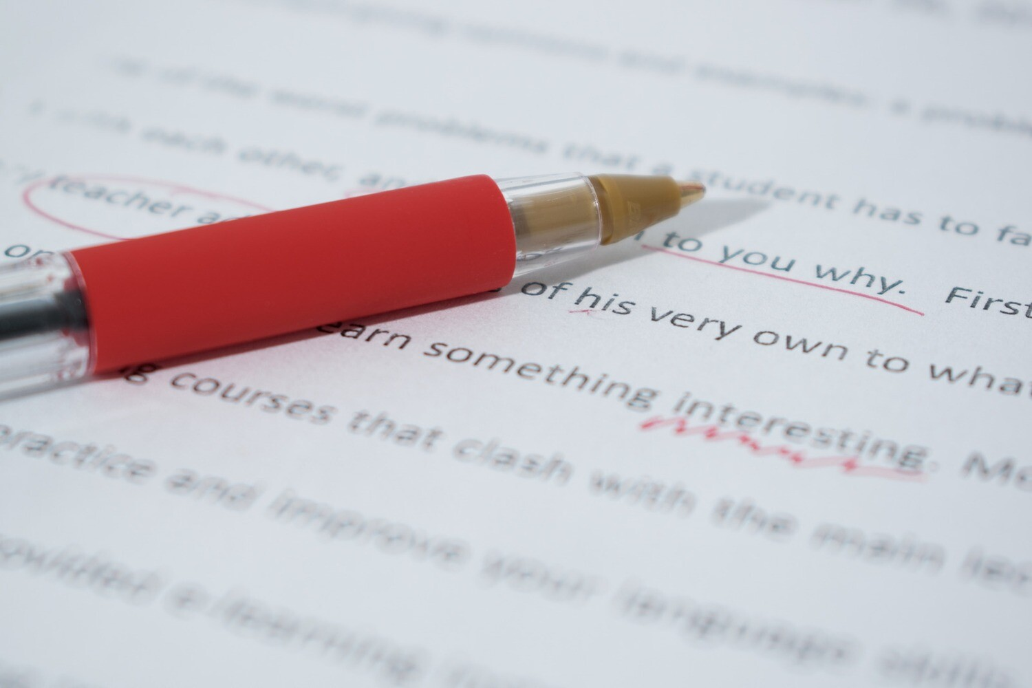 Full Text Grammar Edit (e.g. thesis submissions,  applications)