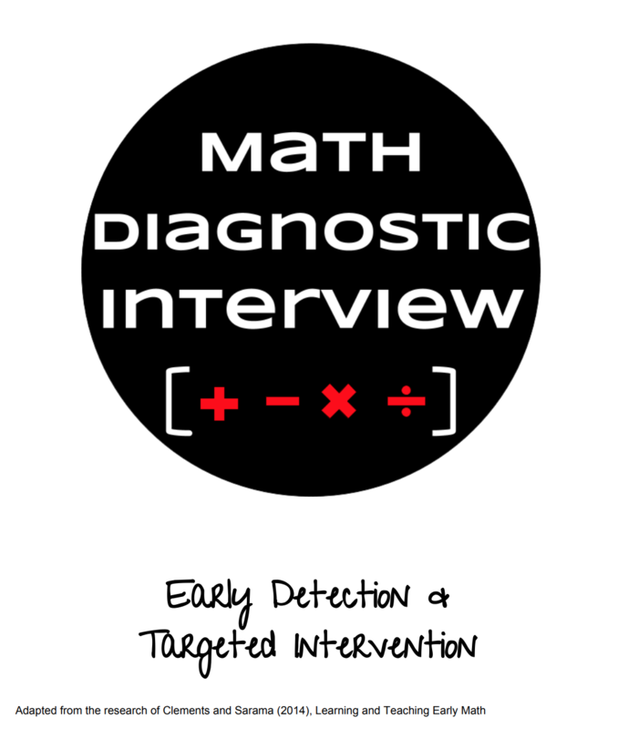 Math Diagnostic Interview