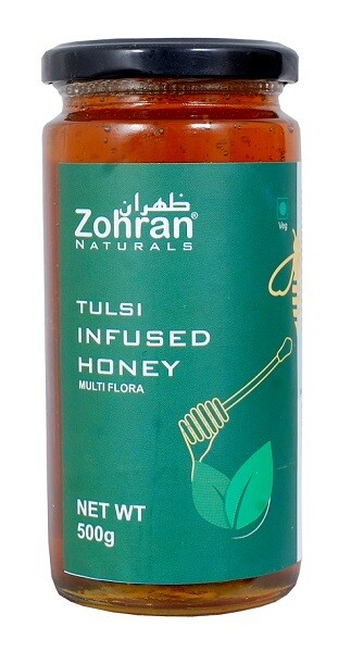 Zohran Natural Tulsi Infused Honey 500g